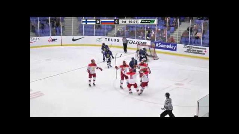 Nov 06, 2017 WHC-17: Finland 4-6 Russia