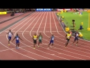 Former Vols Justin Gatlin and Christian Coleman take down Usain Bolt