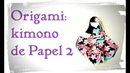 Kimono de Papel de Origami 2