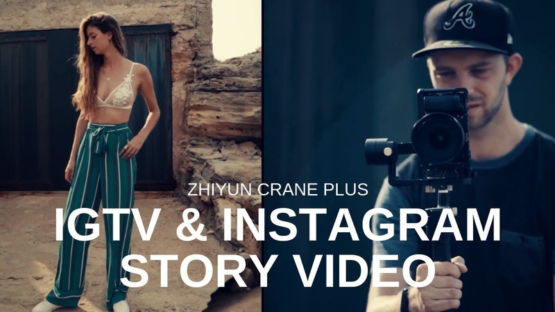 Let Crane Plus Boost Your IGTV and Ins Video By Sebazpictures