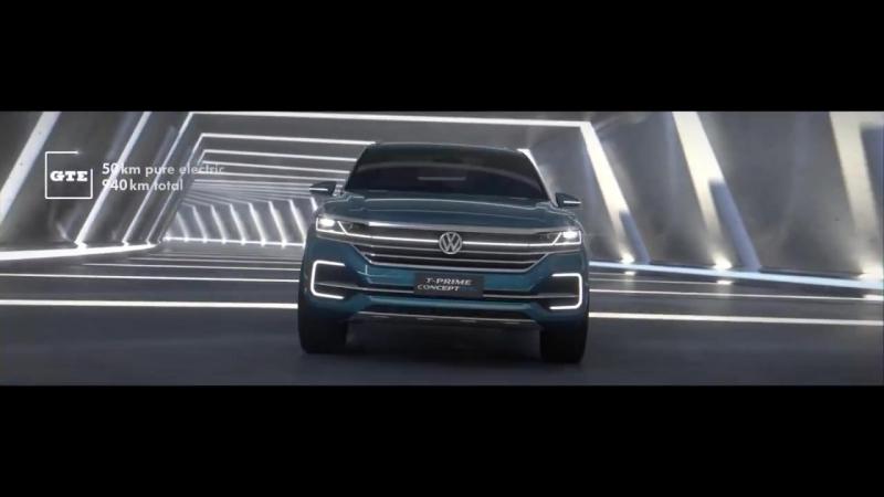 Реклама Volkswagen T-Prime GTE. Канал Concept 2020