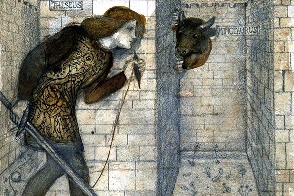 Минотавр Персонаж древнегреческой мифологии, монстр с человеческим телом и бычьей головой. Родился у Пасифаи, супруги критского царя Миноса, после того как та вступила в интимную связь с быком.