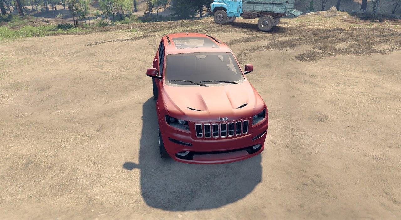 Jeep SRT 8 для Spintires - Скриншот 2