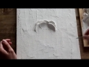 Скульптурная живопись Урок 1 Мастер класс Sculptural painting