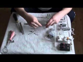 Станок для изготовления канатов для моделей кораблей - Планетарка 2.5