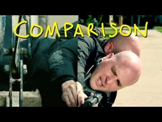 Red 2 Trailer - Homemade Side by Side Comparison