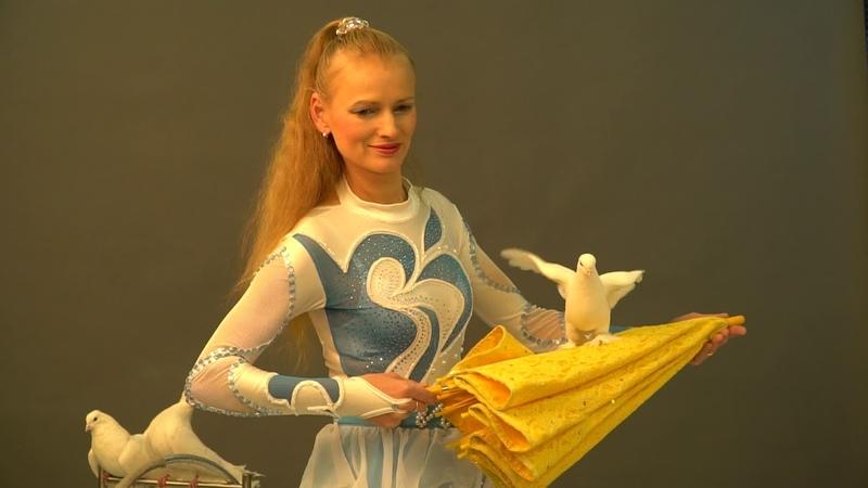 Номер с дрессированными голубями | 8(965)380-13-11 Москва