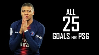 Kylian Mbappe 2019 - All 25 Goals for PSG - 2018/2019 HD
