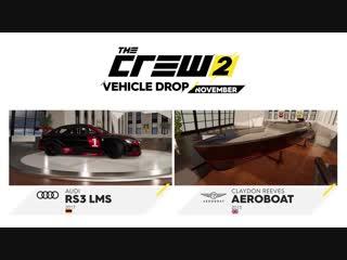 The Crew 2 November Vehicle Drop Trailer Ubisoft [NA]
