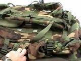 Part 3 Huge Internal Frame Military Field & Patrol Pack used as a Camping, Hiking Backpack
