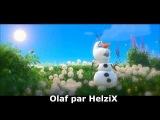 La Reine des Neiges - en été - olaf par HelziX