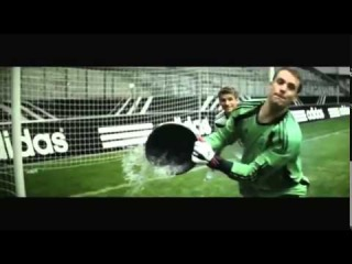 Ozil and Podolski reveal Germany's new world cup kit in adidas advert [2014]