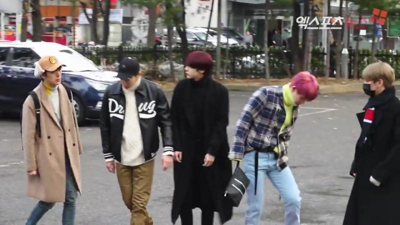 [VK][171124] MONSTA X Arriving at Music Bank @ 엑스포츠뉴스