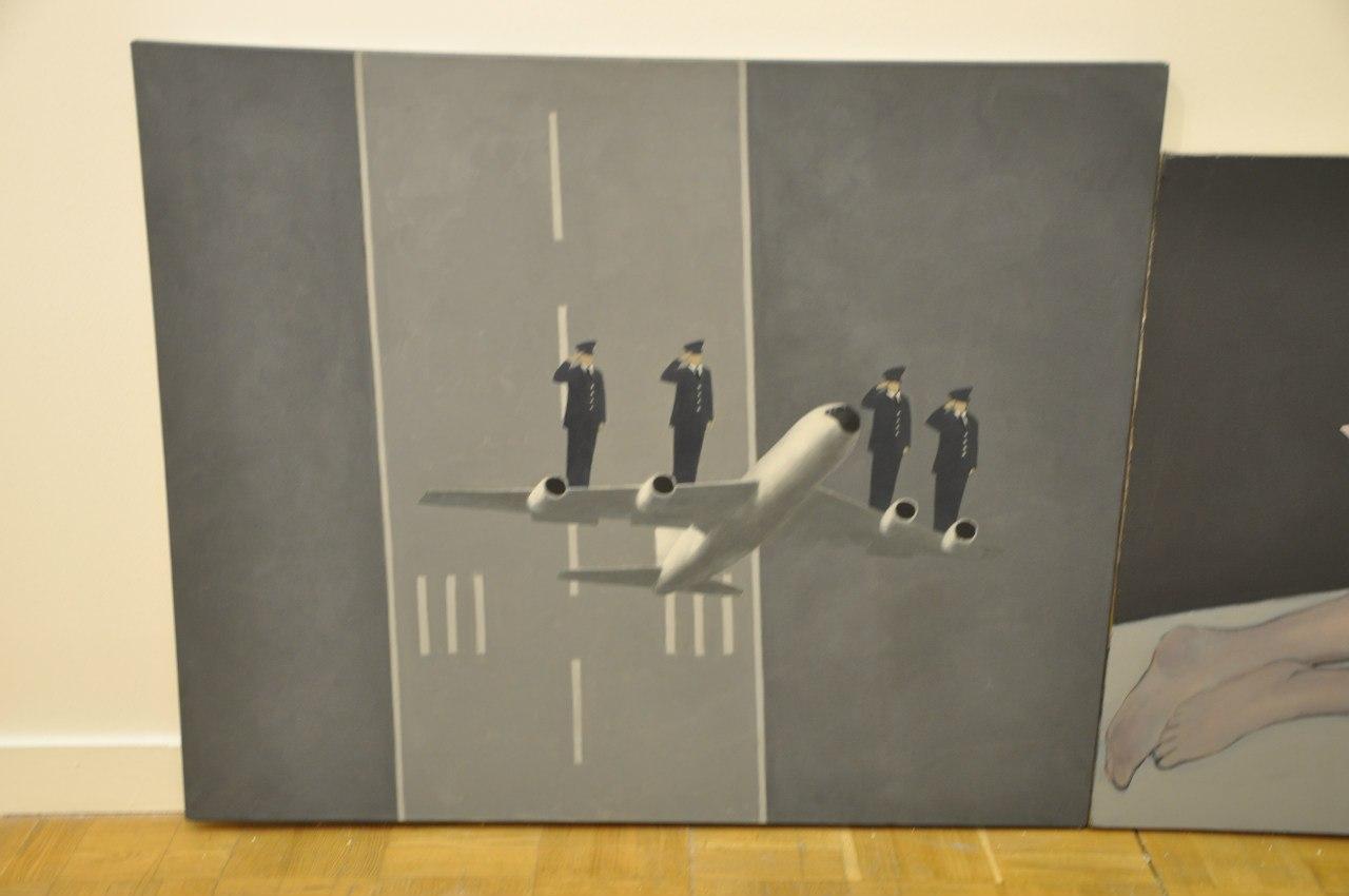Союз художников Латвии  Роналдс Русманис (р. 1981)  Мир. 2010  Холст, масло