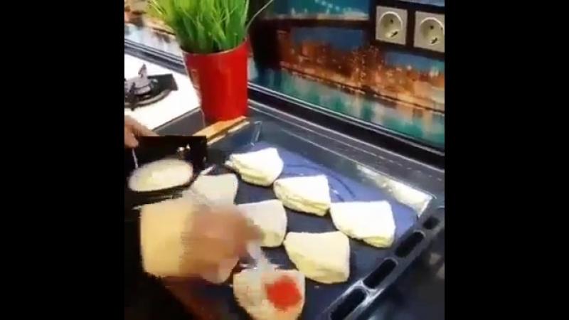 Мамины бутерброды в дорогу или на дачу.