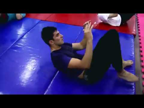 KRAV MAGA GROUND FIGHT Techniques by Beginner Practitioners from Azerbaijan