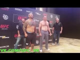 Дуэли Взглядов участников турнира UFC Moscow: Хант - Олейник