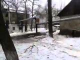 Углегорск после обстрела