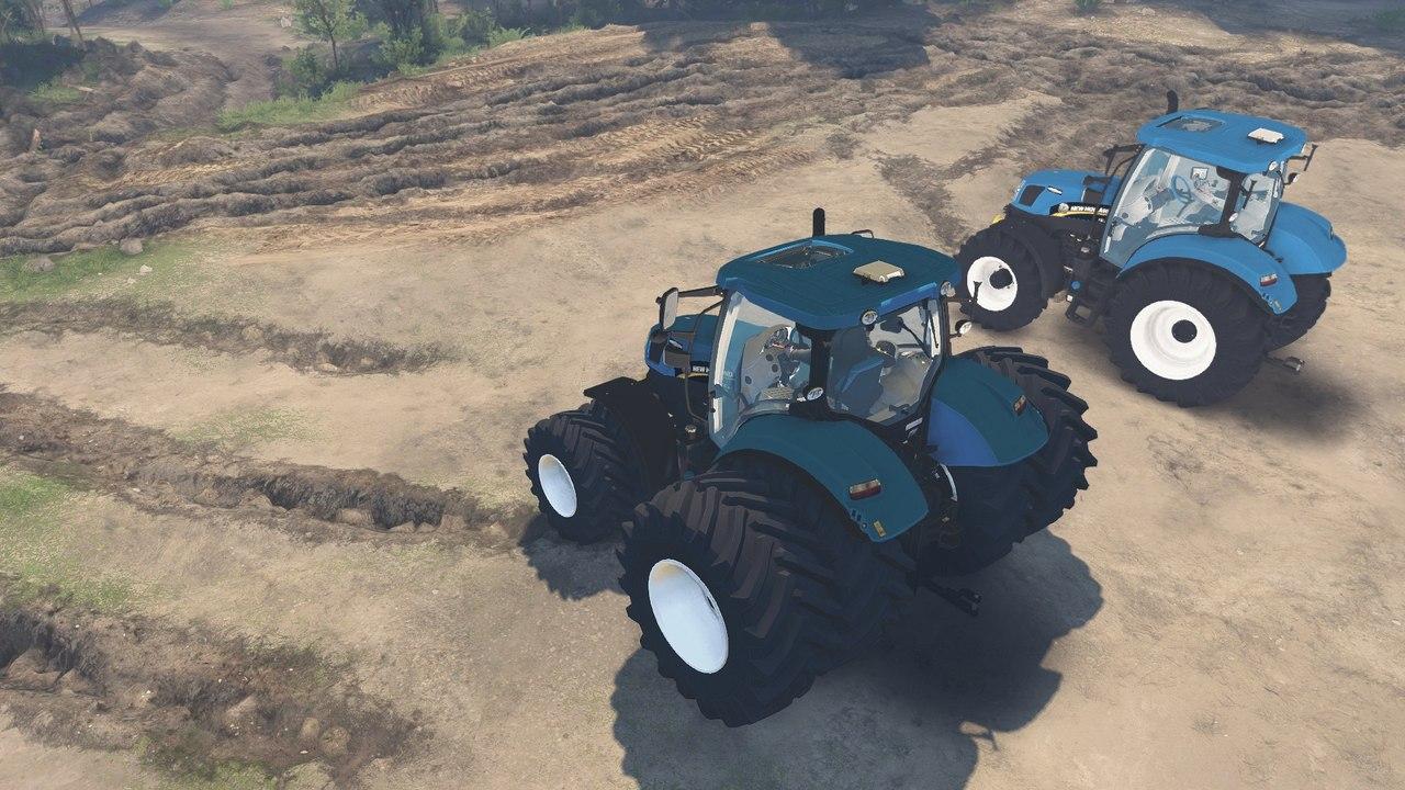 "Трактор ""Holland T6160"" для 25.12.15 для Spintires - Скриншот 3"