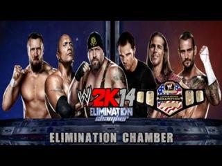 WWE2K14,����:������ vs ��� vs ��� ��� vs ��� ������� vs ��� ������ vs CM ���� (���������: �������)