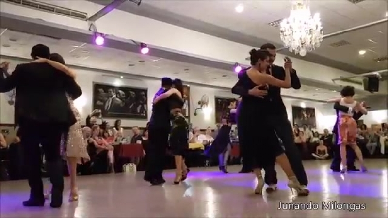 BEST TANGO EVER. 12 Famous Tangueros dance synchronized a milonga Choreography. WOW2