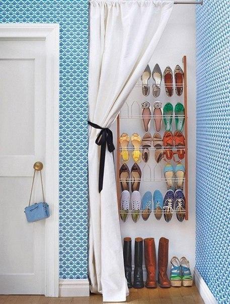 Идея для хранения обуви