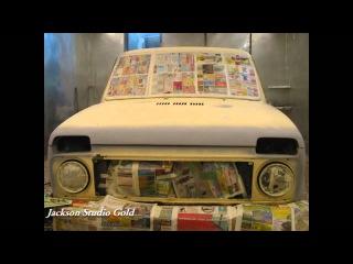 Ваз 21213 Ремонт кузова и двигателя Нива Niva Repair 4x4