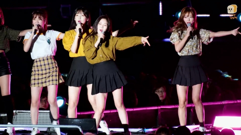 · Fancam · 180909 · OH MY GIRL - Cupid (Hyojung focus) · Daegu K-Pop Festivsl ·
