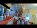 Как заплести косу из пяти прядей