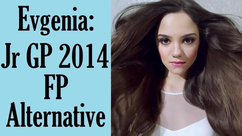 Evgenia MEDVEDEVA FP Junior GP Ostrava 2014 Alternative