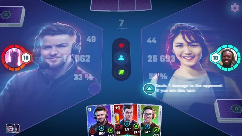 Dheroes трейлер карточной мобильной игры с известными видеоблогерами