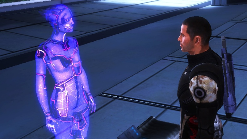 Mass Effect 1 - Avina Citadels Virtual Intelligence