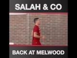 Salah & co back at Melwood