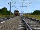 Электровоз 2эс10 Гранит с ПОЖАРНЫМ поездом