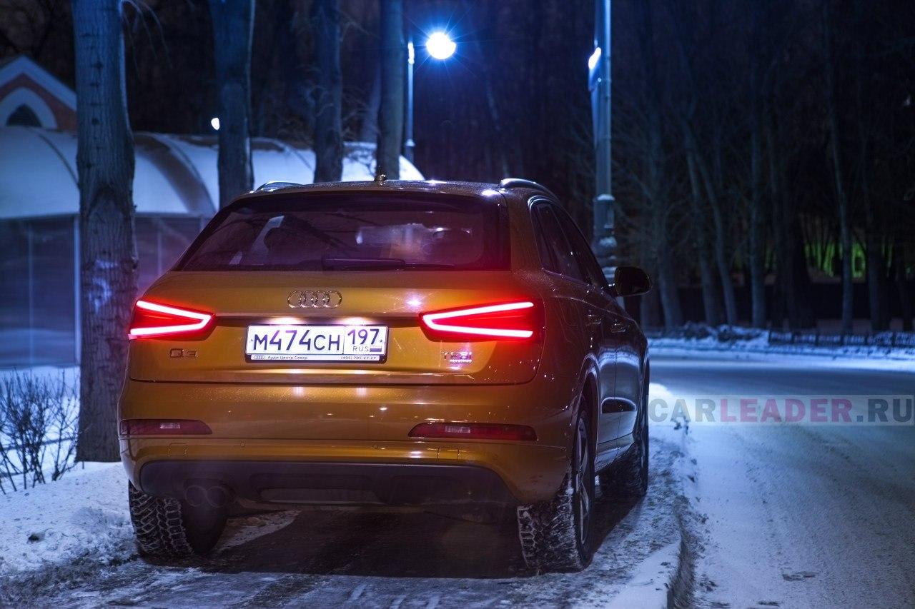 tail lights Audi Q3