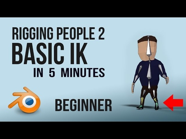 Rigging | Basic IK foot roll | Blender |