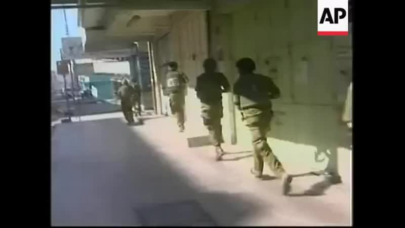 Stonethrowing youths attack on checkpoint IDF reaction