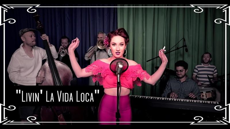 """""""Livin' La Vida Loca/Vive La Vida Loca"""" (Ricky Martin) Caribbean Cover by Robyn Adele Anderson"""