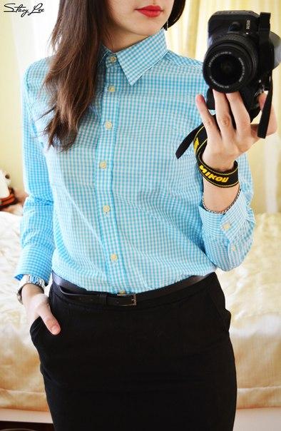 Стильная хлопковая рубашка из магазина Pointage. Приглядела её в обзоре