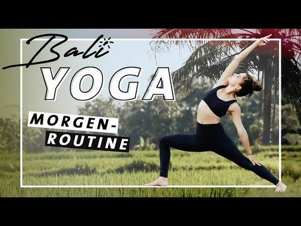 Yoga Morgenroutine Vinyasa Flow | Fit Wach den Tag beginnen | Mittelstufe