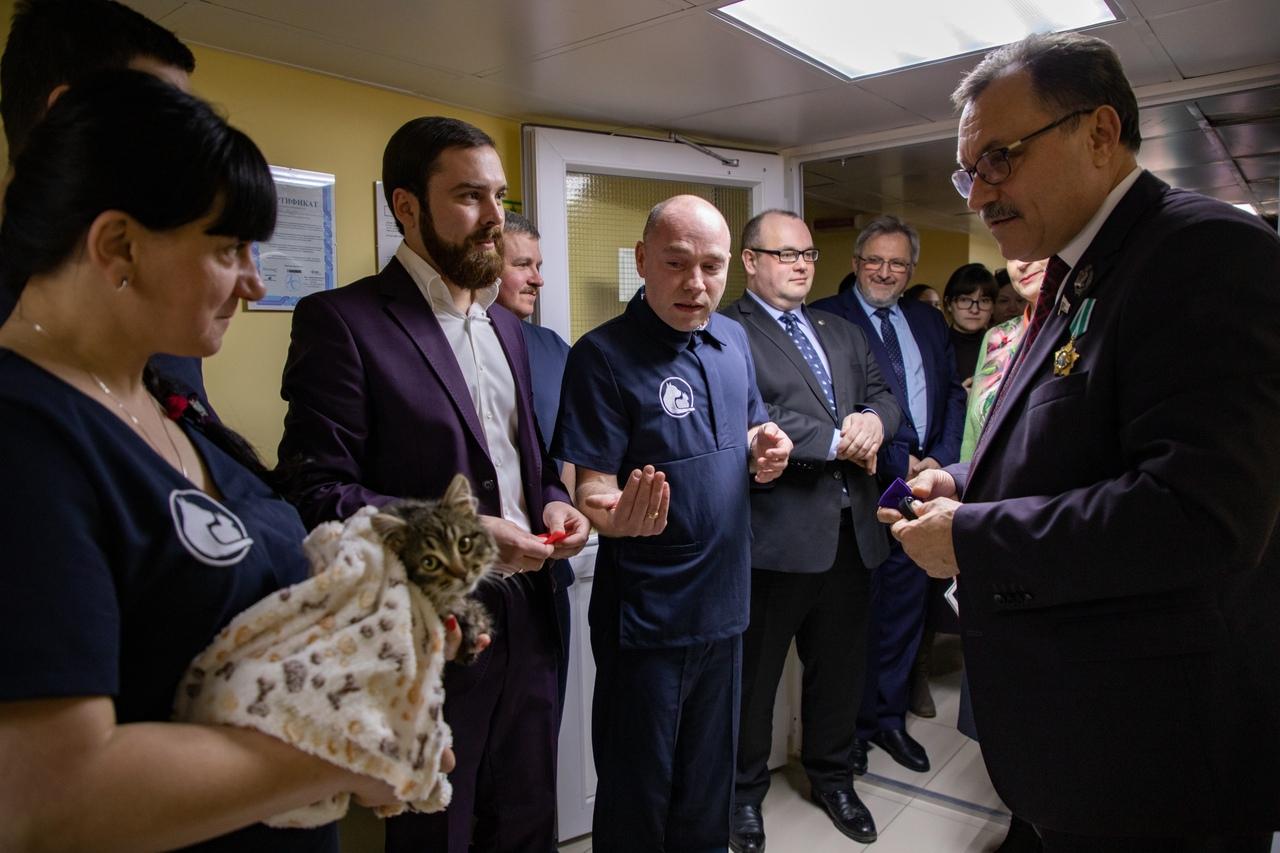 В Курском медуниверситете открыли ветеринарную клинику