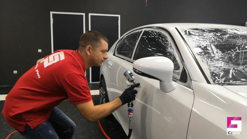 Защита кузова керамикой Lexus GS 250 » Freewka.com - Смотреть онлайн в хорощем качестве