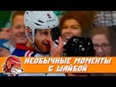 Топ-10 самых необычных моментов с шайбой в НХЛ