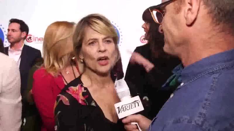 Linda Hamilton at CinemaCon