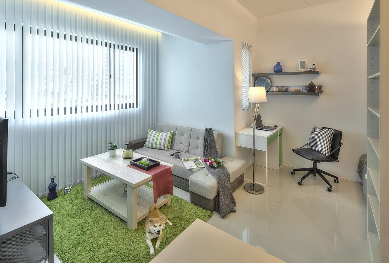 Дизайн интерьера квартиры-студии 32 кв.