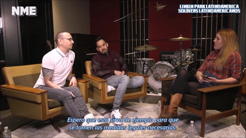 Entrevista a Mike Shinoda y Chester Bennington ¦ NME ¦ SUBS ESP