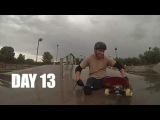 DOUBLE AMPUTEE: Re-learning to skateboard