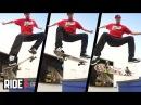 Sewa Kroetkov - Nose Manual Front Foot Late Flip Out - Skateboarding in Slow Motion