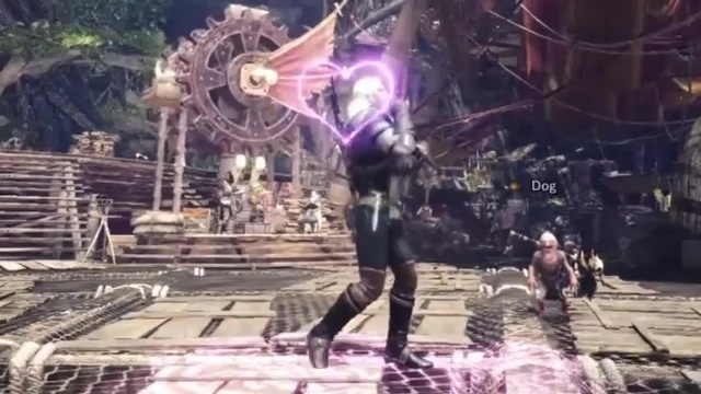 When drank the wrong potion Geralt in Monster Hunter World · coub коуб
