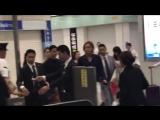 [27/09/2017] Чанг Гын Сок на Ж/Д станции Шин(Shin) в Осаке , прибытием со станции Синагава. Токио-Осака.